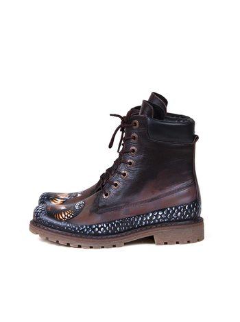 """Ботинки  """"Змея"""""""