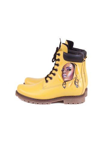 """Ботинки  """"Мулатка"""""""