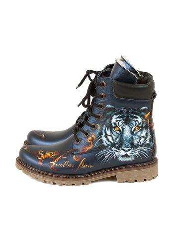 """Ботинки  """"Тигр"""""""