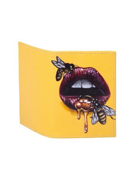 """Обложка на паспорт """"Медовые губы"""""""