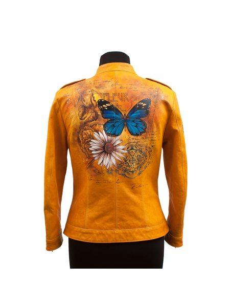 """Кожаная куртка """"Fleur"""""""