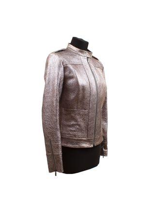 """Кожаная куртка """"Металлик"""""""