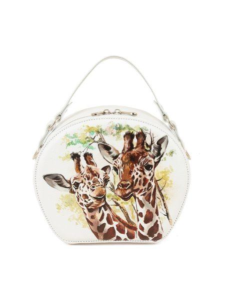 """Круглая сумка """"Жираф"""""""