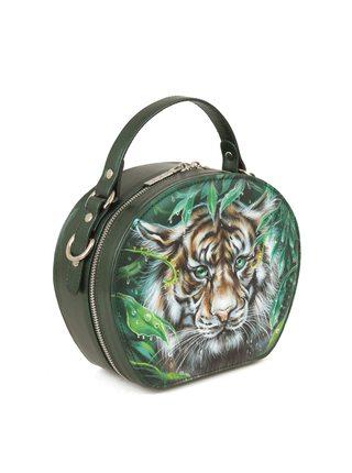 """Круглая сумка """"Тигруля"""""""