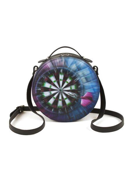 """Круглая сумка """"Дартс"""""""