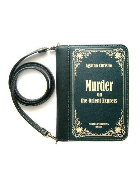 """Клатч-книга """"Убийство в Восточном экспрессе. Агата Кристи"""""""