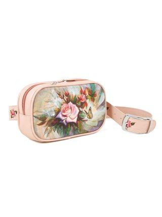 """Поясная сумка """"Акварельные розы"""""""