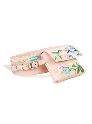 """Поясная сумка """"Цветы.Колибри"""""""